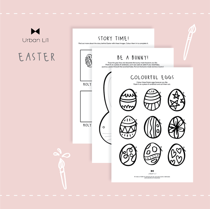 Easter Printable - Urban Li'l