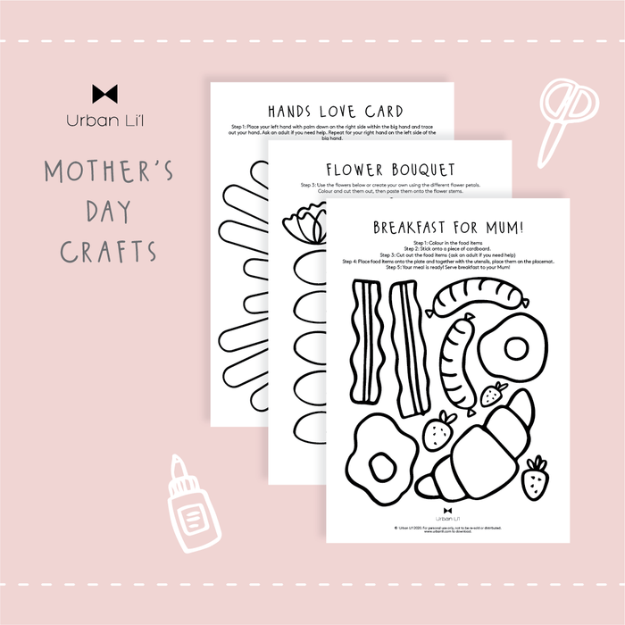 Mother's Day Craft Printable