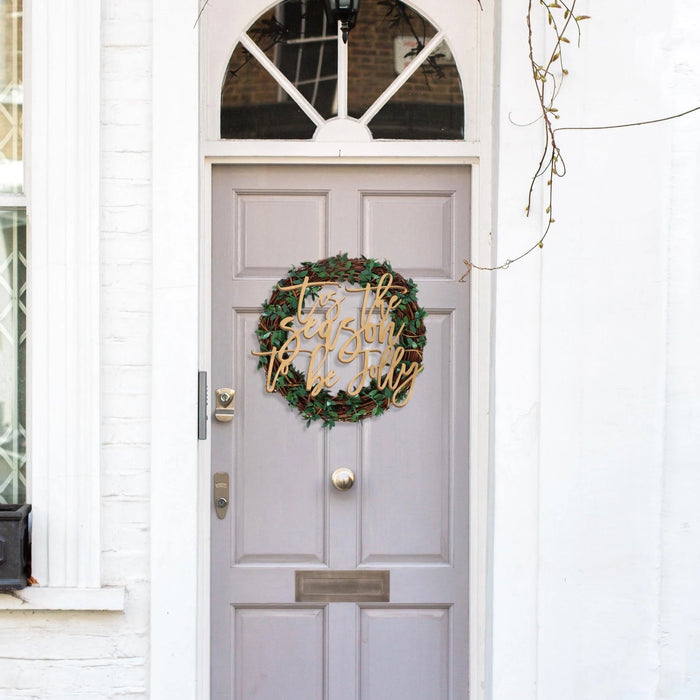 Rustic Christmas Wreath - Urban Li'l