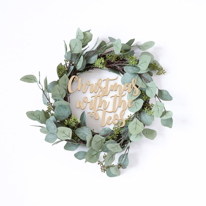 Fancy Christmas Wreath -Eucalyptus - Urban Li'l