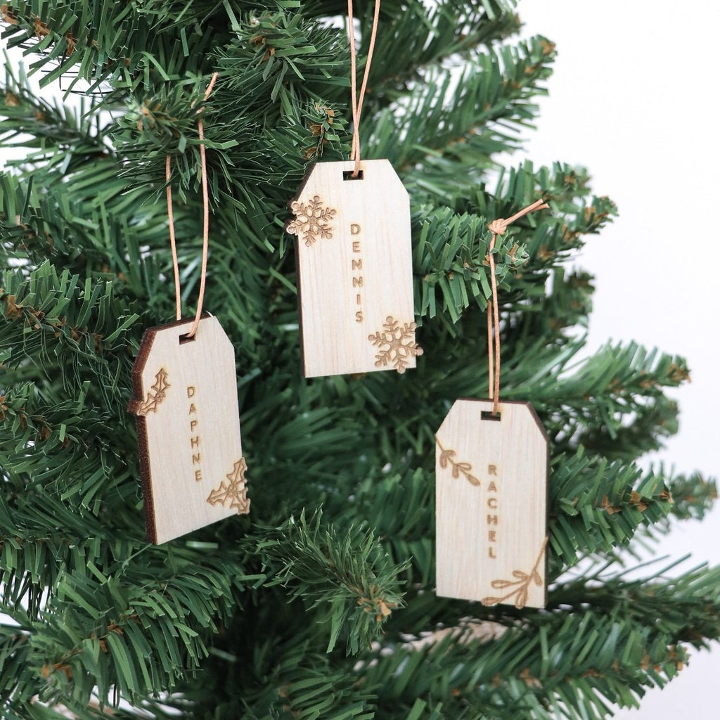 Christmas Gift Tag -Set of 3 - Urban Li'l