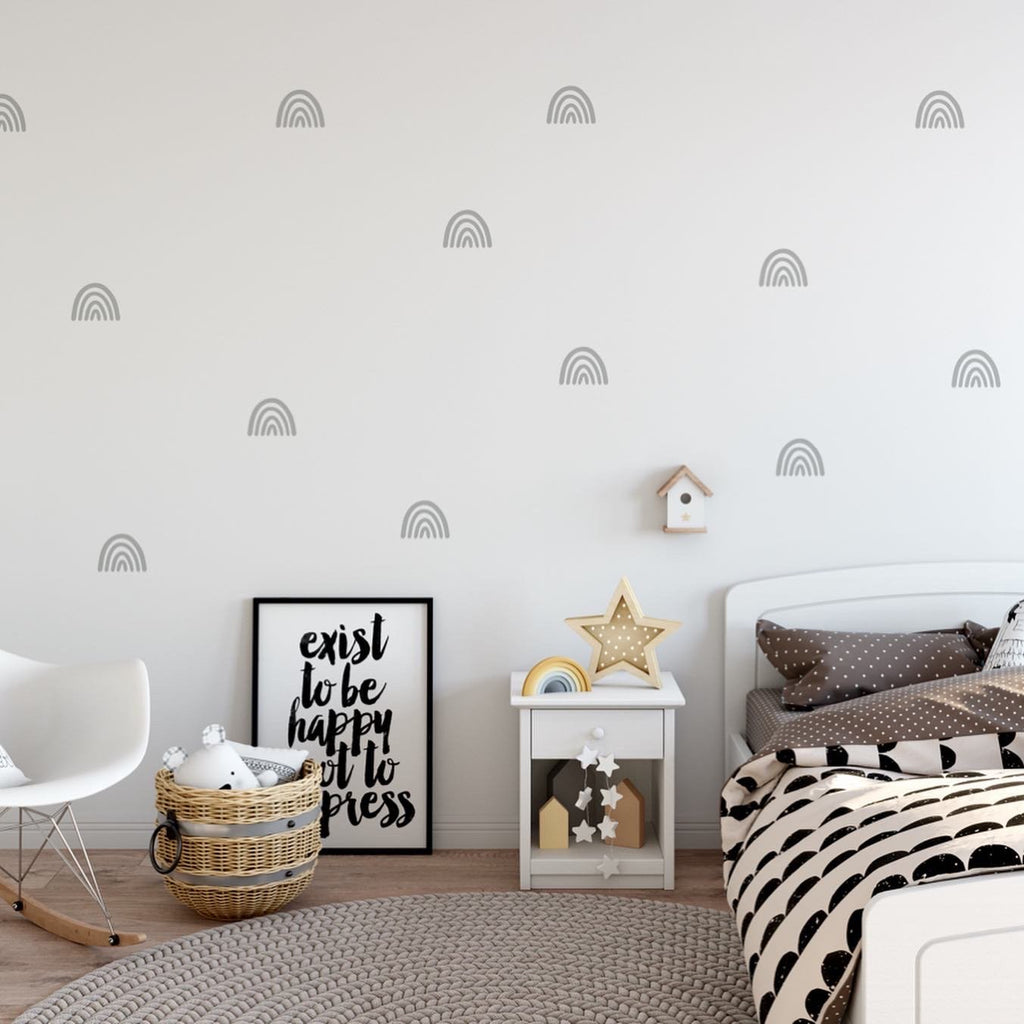 Rainbow Wall Decal - Urban Li'l
