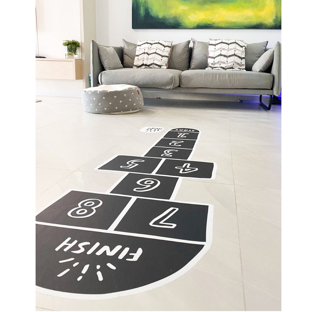 Hopscotch Fabric Floor Decal - Urban Li'l