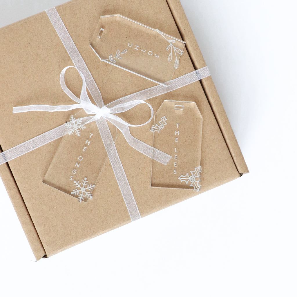 Christmas Gift Tag -Set of 3
