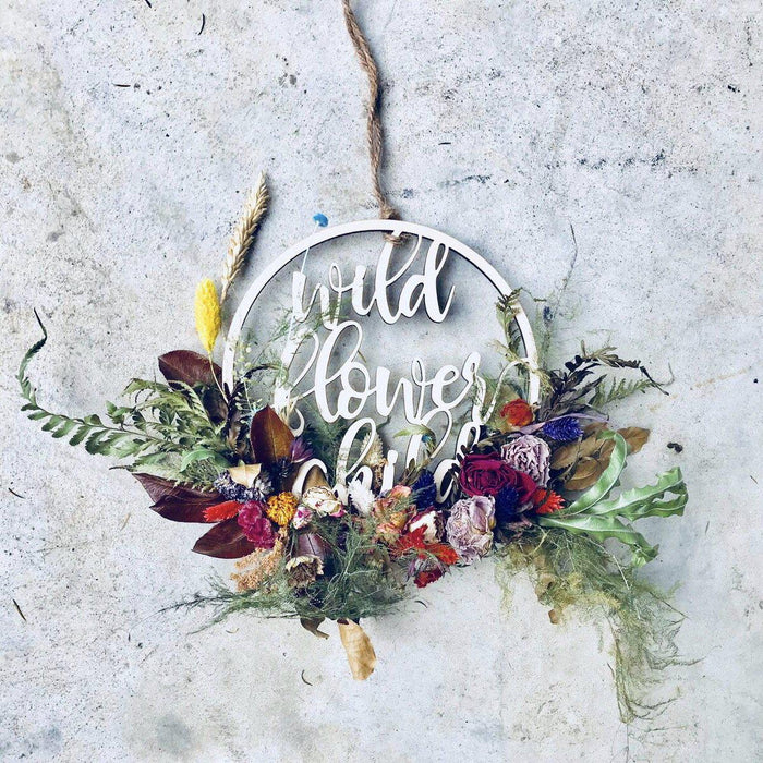 Wild Flowers Wreath