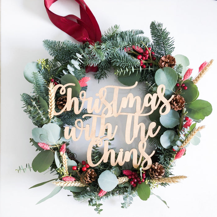 'Beginning To Smell Like Christmas' Wreath