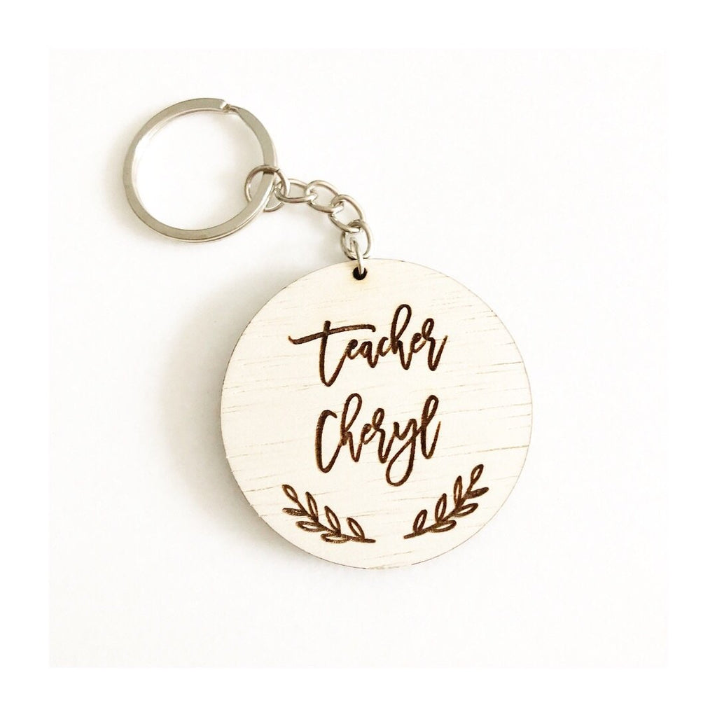 Engraved Key Chain