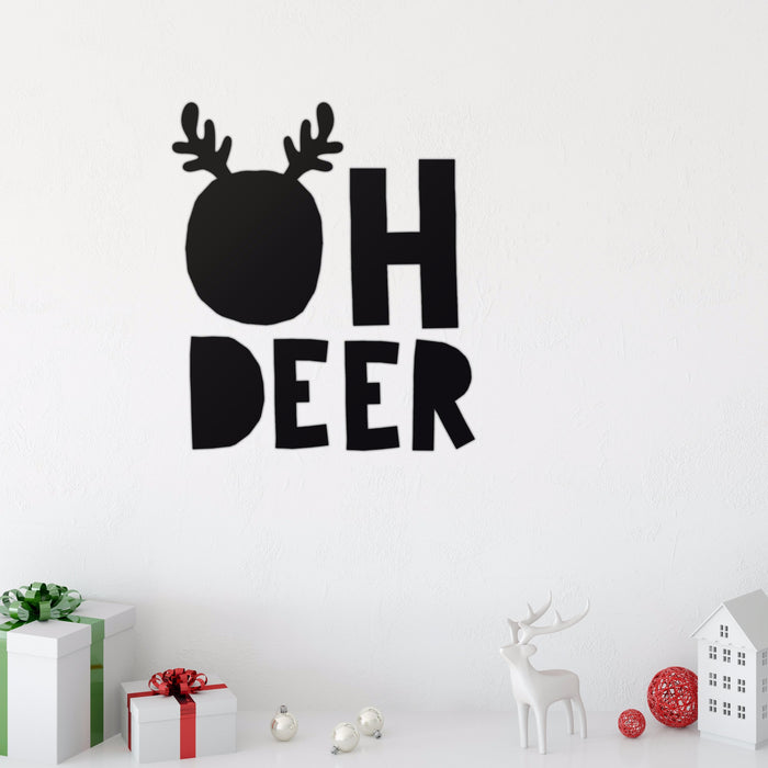 Oh Deer Wall Decal