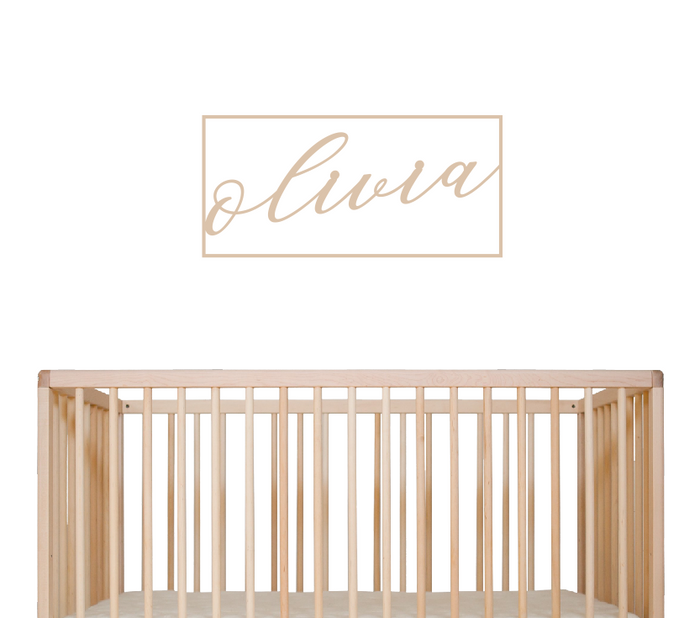 Rectangular Nursery Signage - Urban Li'l