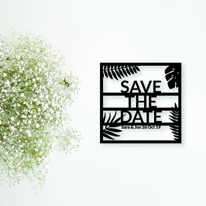 """Save The Date"" Invitation Card Holder"