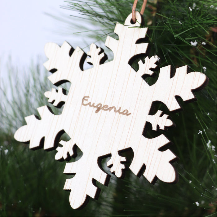 Christmas Ornament -Good Ol' Snowflake - Urban Li'l