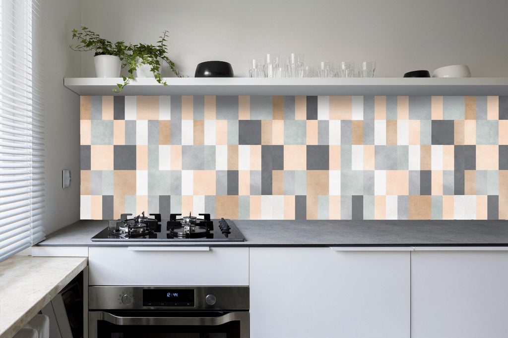 Skinny Bricks Kitchen Backsplash by Styledbypt x Urban Li'l