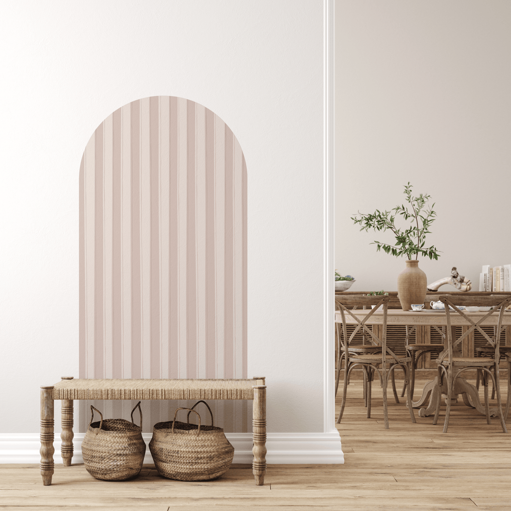 Stripey Arch Fabric Decal by Houseofchais x Urban Li'l