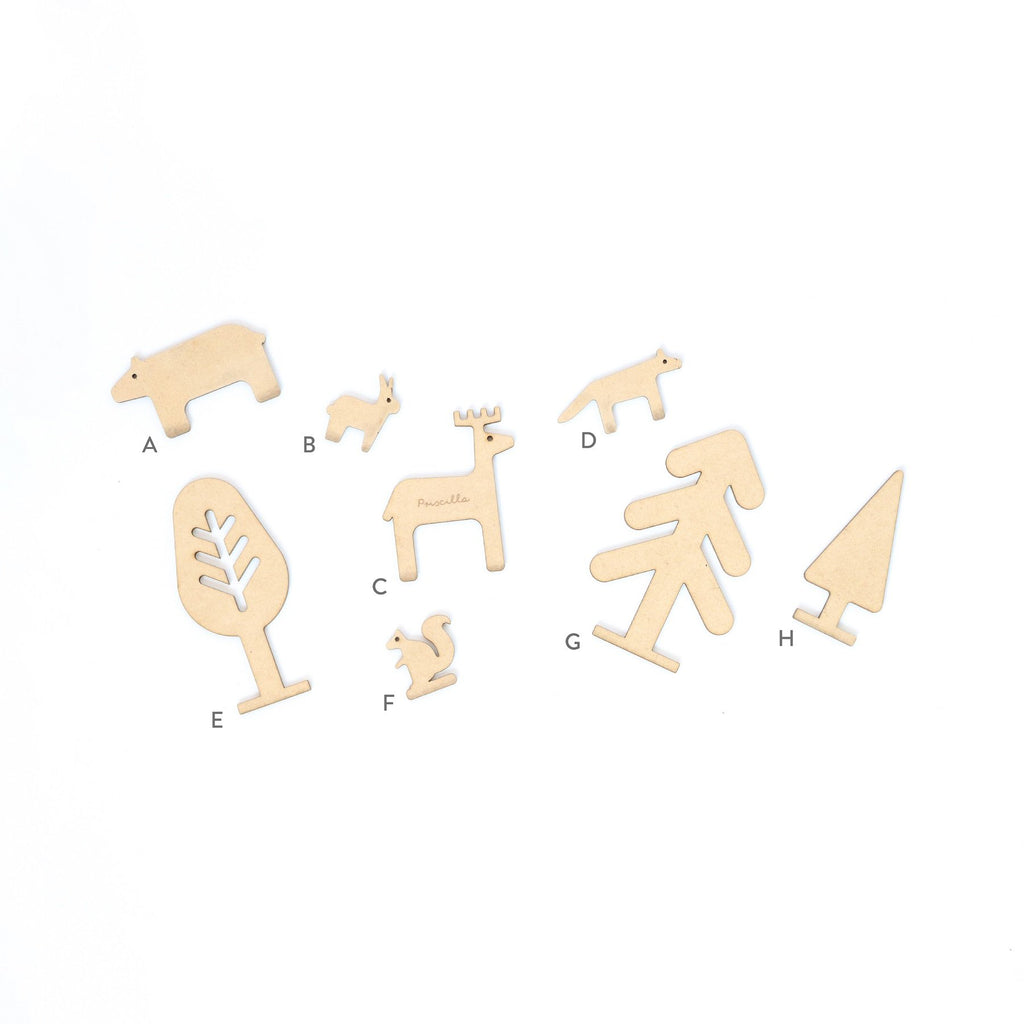 Story Standee Characters -Pack of 3