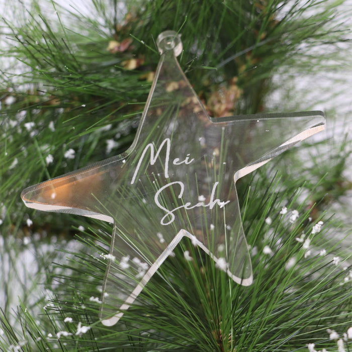 Christmas Ornament -You're A Star - Urban Li'l