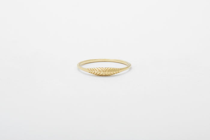 Etched Ovate II Ring