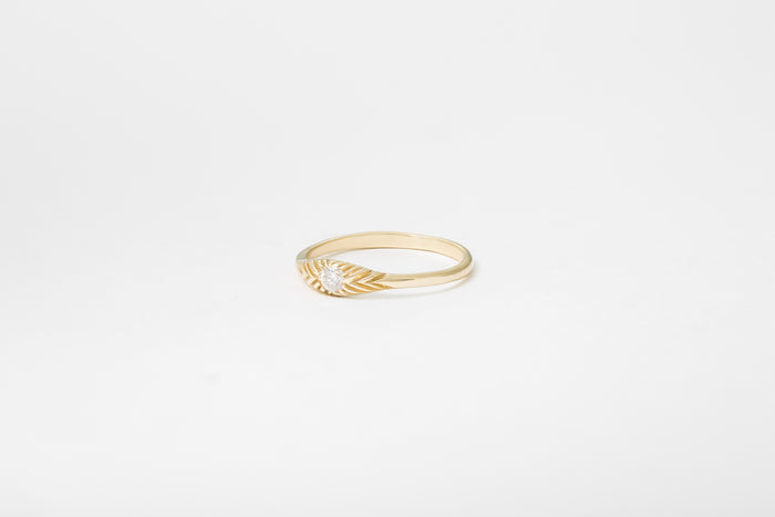 Diamond Ovate III Ring