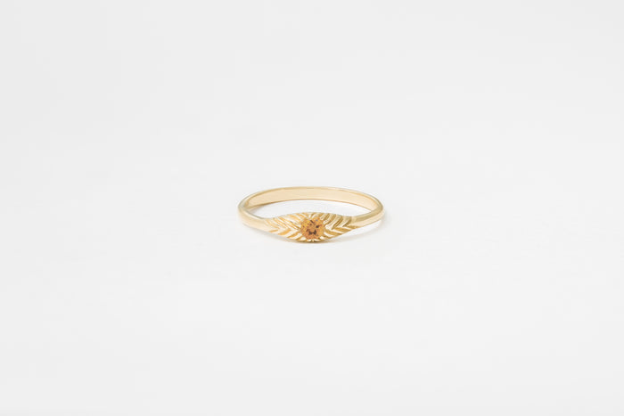 Citrine Ovate III Ring
