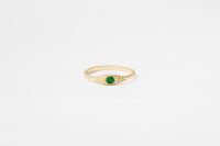 Emerald Ovate III Ring