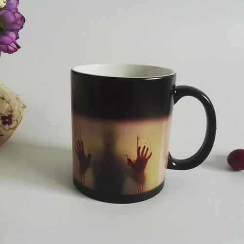 Color Changing Zombie Mug