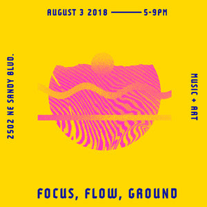 Meet the Artists behind Focus, Flow, Ground.