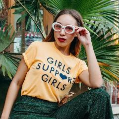 Girls Support Girls - Gold