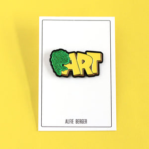 Alfie Berger Fart Pin