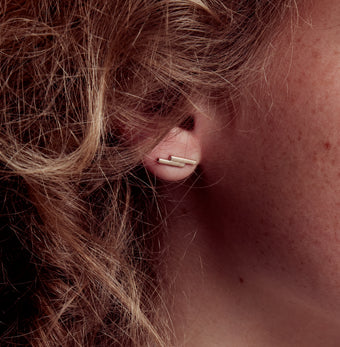 Double Bar Earrings