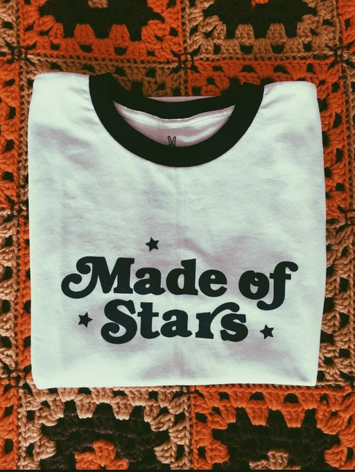 Made of Stars Ringer Tee
