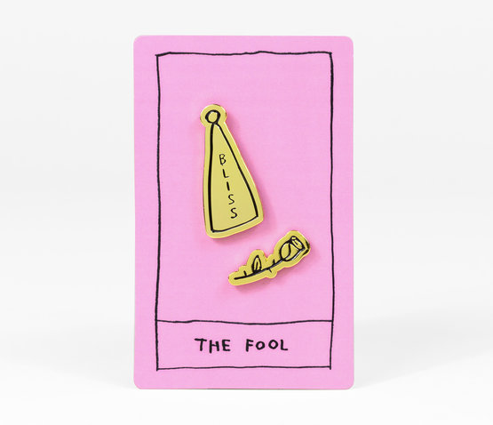 OK Tarot: The Fool Enamel Pin
