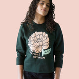 Cautious Optimism Raw Sweatshirt
