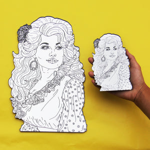 Dolly Parton Mirror