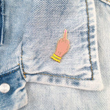 Boy Bye Lapel Pin - Medium