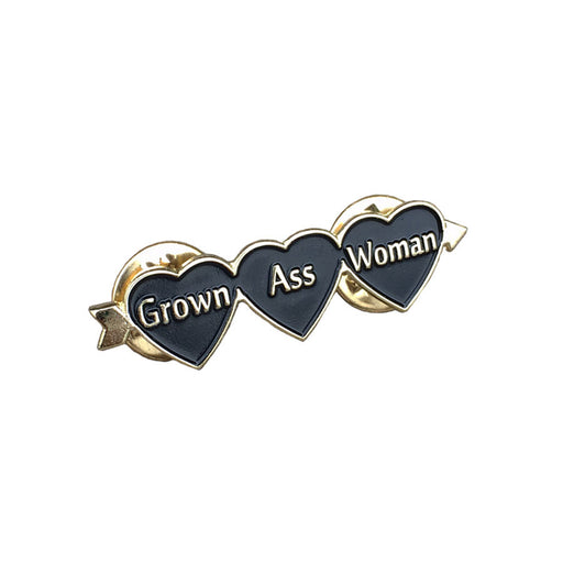 Grown Ass Woman Pin