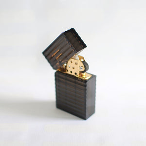 Black and Gold Edge Lighter