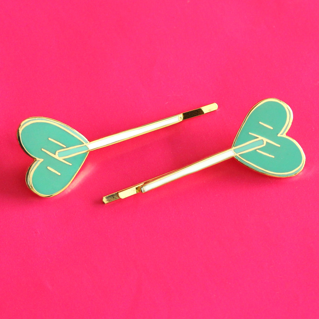 Heart Lolli Bobbi Pins