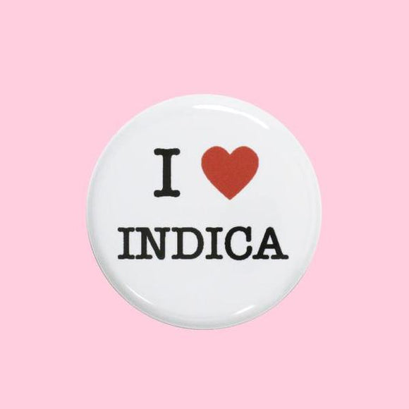 I Heart Indica Button