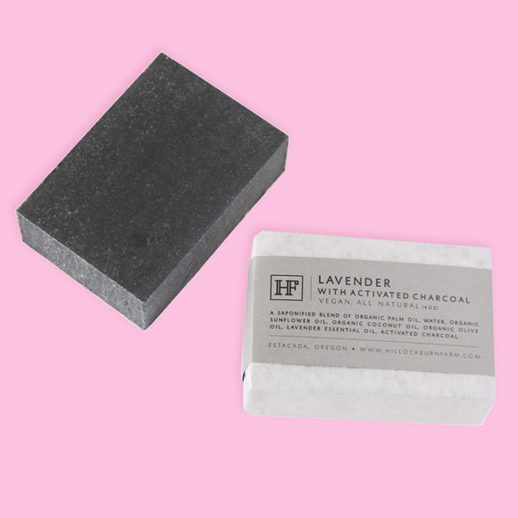 Lavender Activated Charcoal Soap