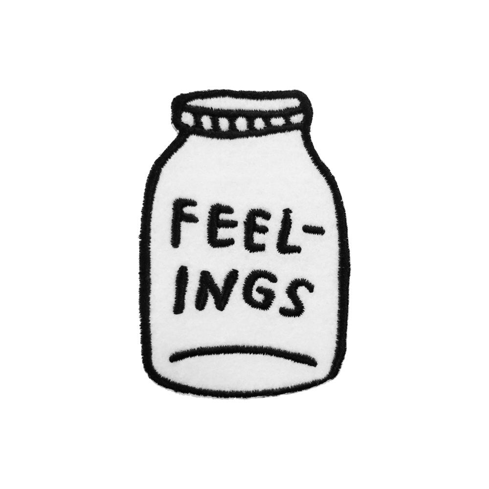 FEELINGS Iron-On Patch