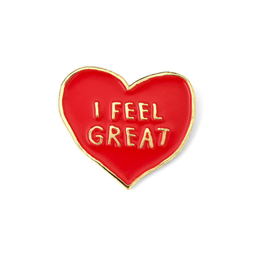 I FEEL GREAT Enamel Pin