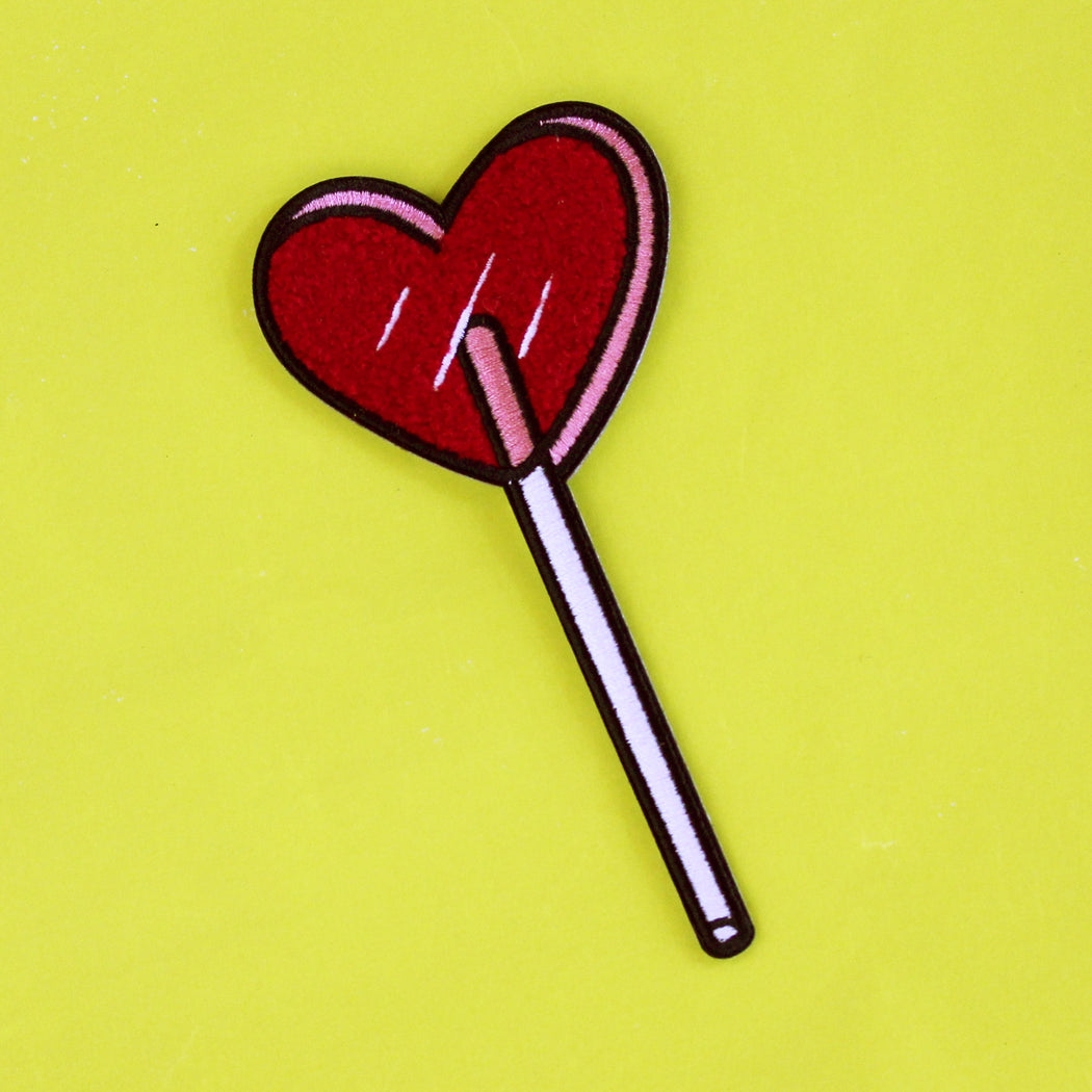 Heart Lolli Patch