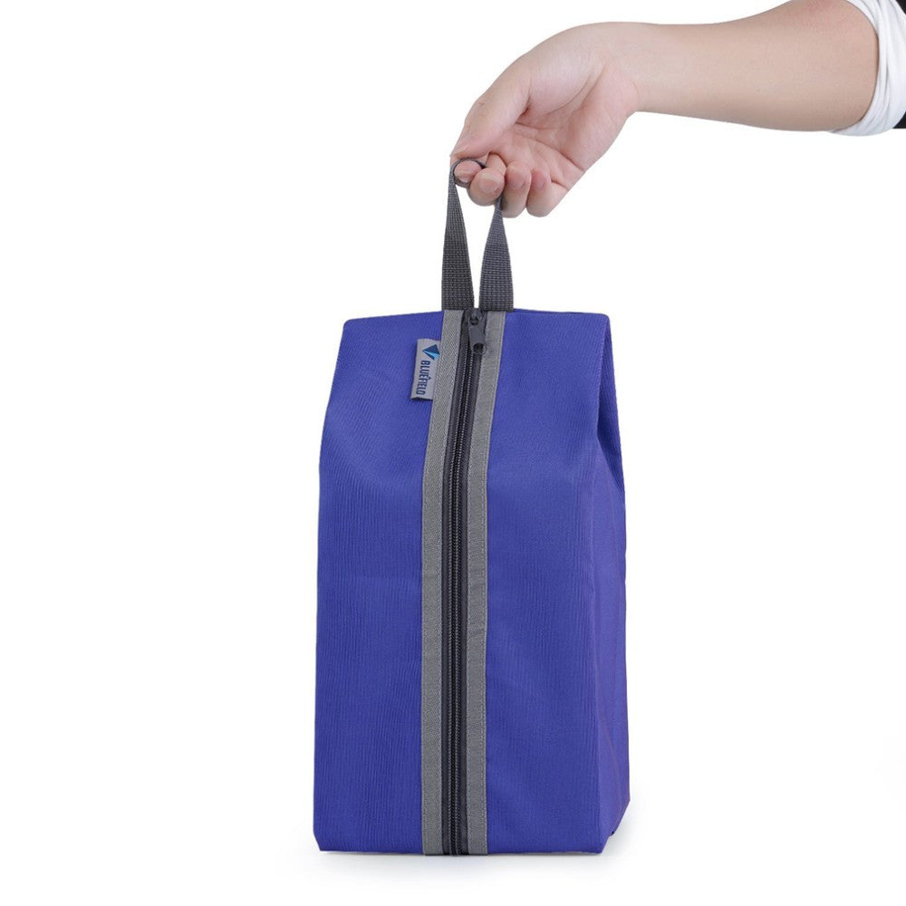Nylon Waterproof Travel Shoe Wash Bag with Zipper and Hook – Travel ... 10c6bf30849d