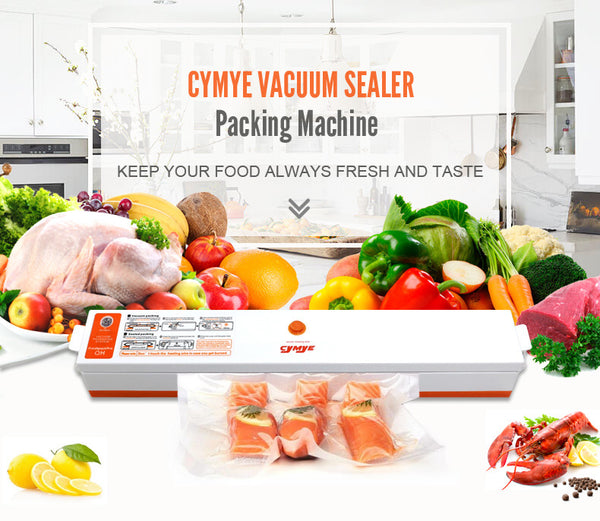 Vacuum Sealer Pro - Keeping Your Food Cereal and Dry Goods Longer