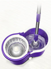AIO 360 Spin Mop - Great for Any Hard Floor Surfaces