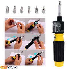 BIT360 All-In-One Screwdriver All-In-One 6-Way Screwdriver