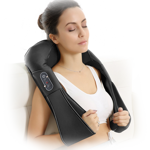 All-in-ONE Shiatsu Massager - Electric Full Body Massage for Relieving Muscle pain