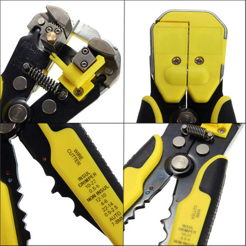 Magic Wire Cutting & Stripping Automatic Tool for Stripper, Cutter and Crimper