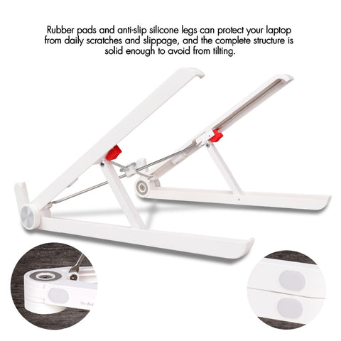 Portable & Adjustable Laptop Stand - Enjoy Your Travel Time