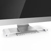 Image of Aluminum Alloy Monitor Stand Riser Organizer with 4 USB Ports
