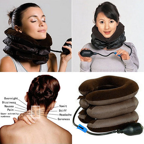 Neck Traction Device - Effective and Instant Relief for Chronic Neck and Shoulder Pain